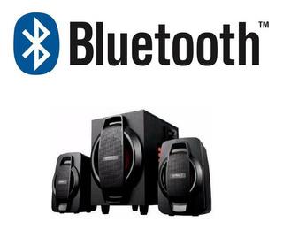 Parlante 2.1 Bluetooth, Unitec Fm- Lector Micro Y Usb
