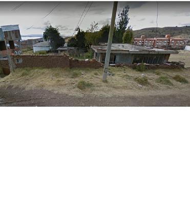 Anticresis Terreno Urbanizado Con Casa Puno Barrio Manto