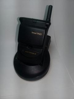Celular Retro Motorola Star Tac Con Base