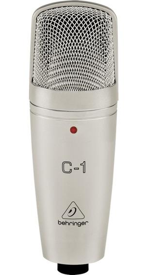 Microfone Condensador Behringer C1 Com Estojo Para Estúdio