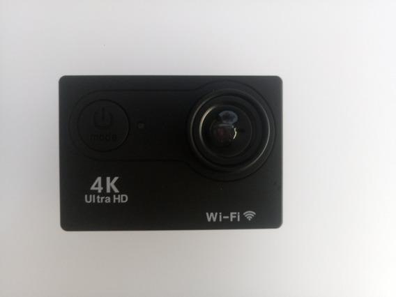 Câmera Ação Hd Ultra 4 K 30 M Wi-fi 2.0 Tela 1080 P