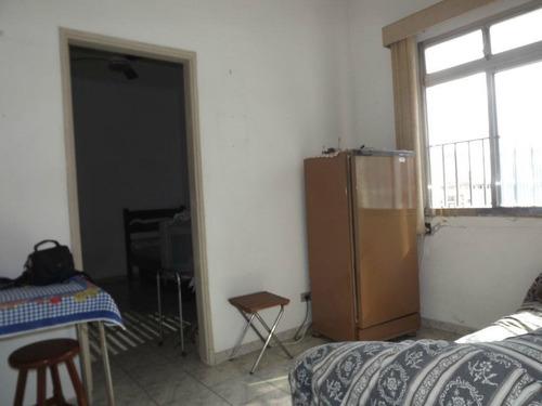 Imagem 1 de 7 de Apartamento Com 1 Dormitório Para Alugar, 39 M² Por R$ 1.550,00/mês - Boqueirão - Santos/sp - Ap0859
