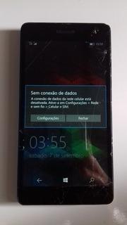 Placa Celular Nokia Lumia 535 Rm 1092 Duos Chips Defeito