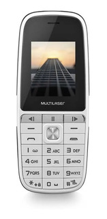 Celular Multilaser Up Play Dual Chip Mp3 Com Câmera Branco