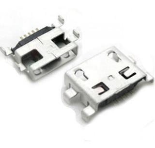 Kit 5 Conectores Conector Carga Moto G1 Xt1032 Xt1033 Xt1040