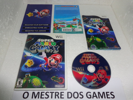 Super Mario Galaxy Original Para Nintendo Wii Confira