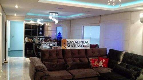 Imagem 1 de 19 de Apartamento À Venda, 178 M² Por R$ 1.700.000,00 - Tatuapé - São Paulo/sp - Ap5186