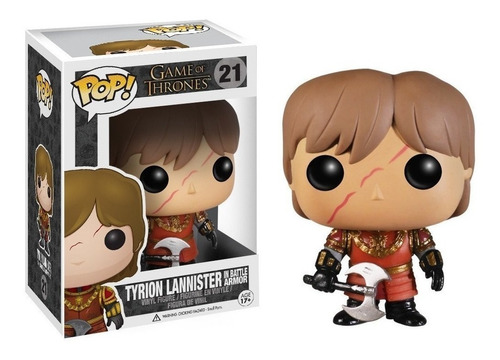 Funko Pop! Game Of Thrones Tyrion Lannister # 21 Orig Replay