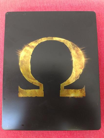 God Of War Ascension Box De Metal Ps3 Frete R$10