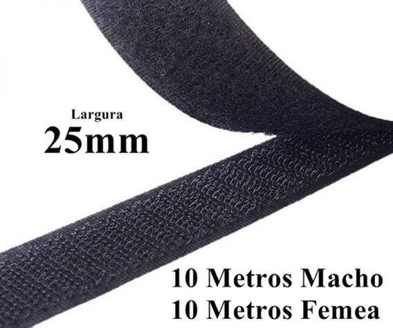 Kit Fita Velcro 25mm 10 Metros Lembrancinha Artesanato