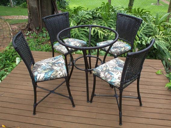 Conjunto Com 6 Cadeiras E Mesa Angra - Área, Cozinha, Jardim