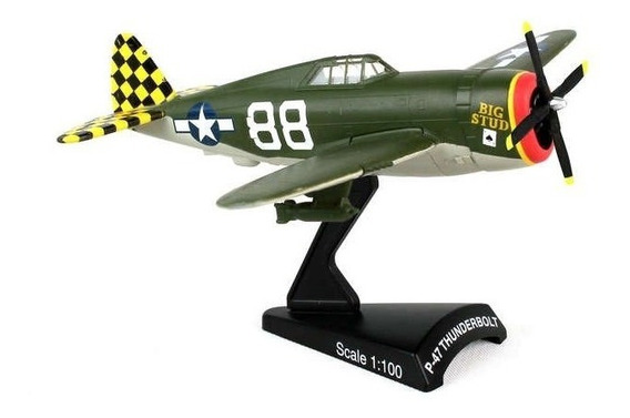 Avion P-47 Thunderbolt Daron Original 1:100 2da Guerra Mund