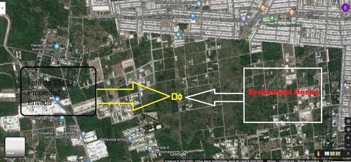 Terreno En Venta En Dzytia Con Facil Acceso, Merida, Yucatan