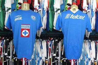 Cruz Azul 2005 Camisa Titular Tamanho G.