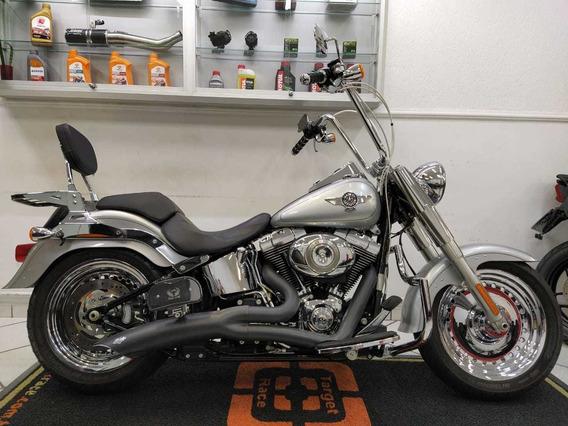 Harley Davidson Fat Boy Prata 2014 - Target Race