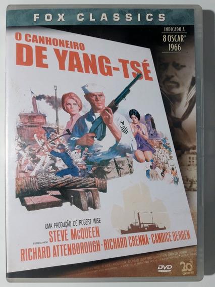 Dvd O Canhoneiro De Yang Tsé 1966 Steve Mcqueen Original