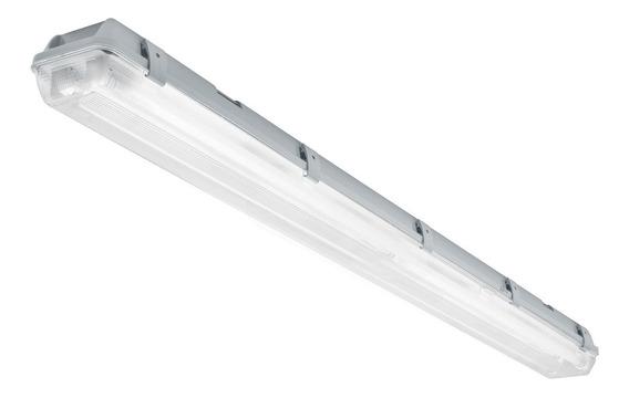 Luminario Sobreponer 2x18w T8 De Led Volteck 46862