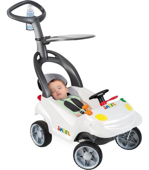 Mini Carro Infantil Bandeirante Smart Baby Plus - Branco Per