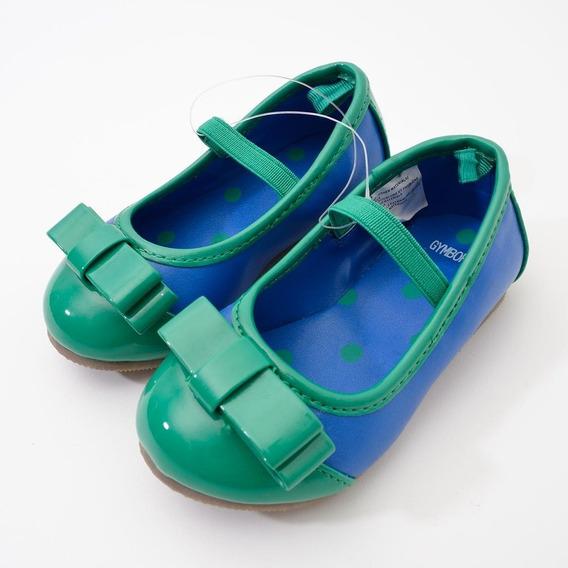 Sapatinho Gymboree Azul E Verde