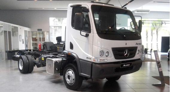 Camión Mercedes Benz Accelo 815 Financiado 0km