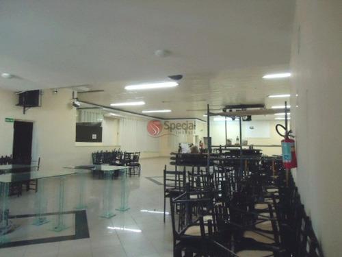Salão Comercial Para Locação, Tatuapé, São Paulo. - Af3005