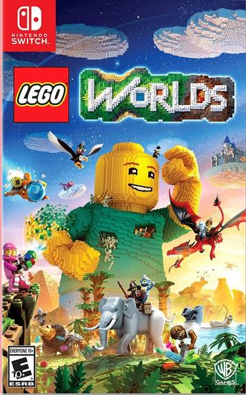 Lego Worlds - Switch - Frete Grátis! Pronta Entrega!