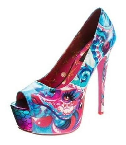 Zapatillas Iron Fist Under Sea Sirena Unicornio Dollskill