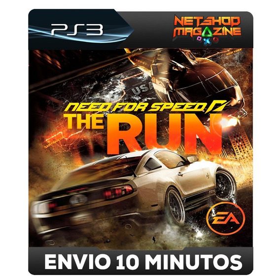 Need For Speed The Run - Psn Ps3 - Envio Imediato