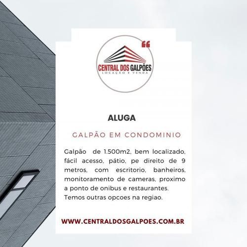 Imagem 1 de 1 de Galpão Para Locação Em Betim, Setor Industrial - Cdg15_2-1163659