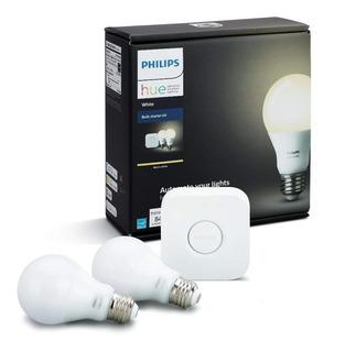 Philips Hue Kit De Inicio White 2 Lamparas - Entrega Inmediata