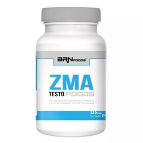 Zma Testo Foods Com 120 Cápsulas