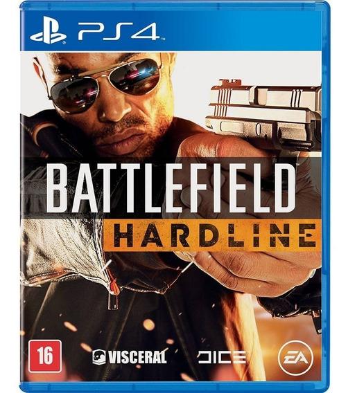 Battlefield Hardline - Ps4 - Novo - Midia Física - Dublado