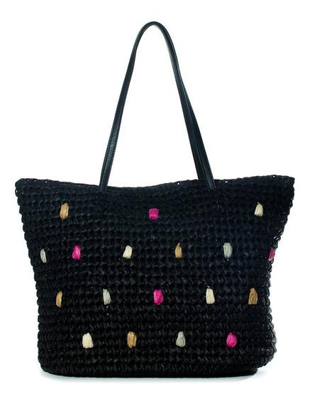 Romina Shopper Negro Xl Extra Large