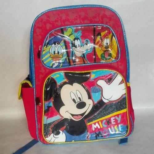Mochilas De Mickey Mouse Y Minnie Mouse.nuevas.