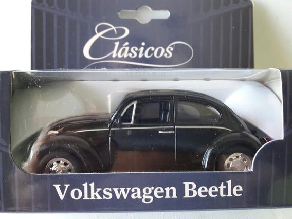 Auto De Colección Volkswagen Beetle Escala 1/38 Escarabajo