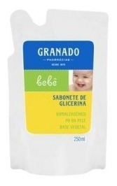 Sabonete Líquido Granado Bebê Glicerina Refil 250ml