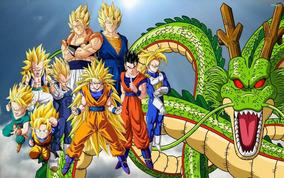 Painel Festa Banner Dragon Ball 2x1,50m Dragonball Z