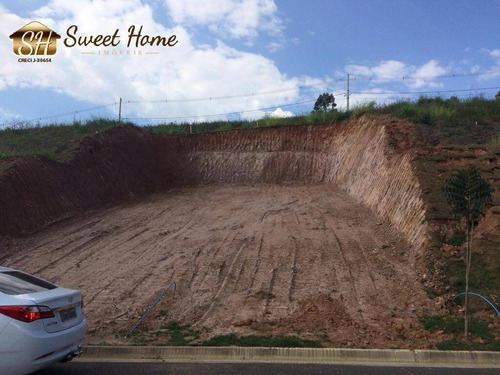 Terreno À Venda No Condomínio Villas Do Jaguari - Sh21054