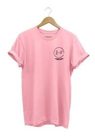 Camiseta Baby Look Twenty One Pilots Camisa Feminina !!!