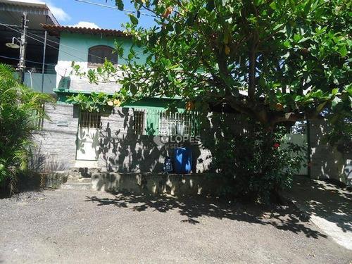 Imagem 1 de 13 de Casa Duplex, 06 Qts., Espaçoso Quintal Com Piscina, 85 M², R$ 280.000,00 - Vista Alegre - São Gonçalo/rj - Ca16339