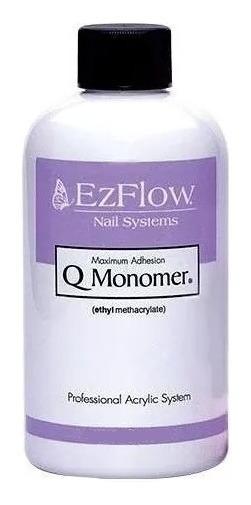 Monomero Ezflow Q-monomer 225ml Uñas Esculpidas Acrilicas