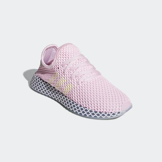 Tênis Feminino adidas Deerupt Runner Rosa Original - Footlet