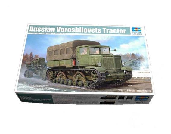 Russian Voroshilovets Tractor 1:35 Trumpeter 01573