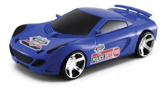 Carro Brinquedo Fast Policia 190 Orange Toys Menino Oferta