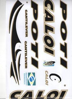 Adesivo Para Bicicleta Caloi Poti Cantilever 2010