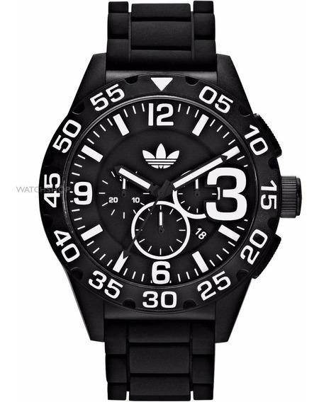 Relógio adidas Adh2859 Silicone Preto Original