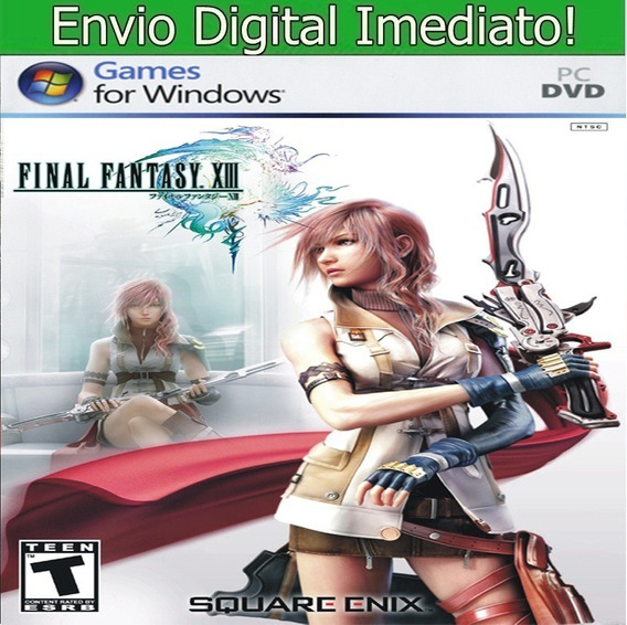 Final Fantasy Xiii Pc Hd Envio Imediato.