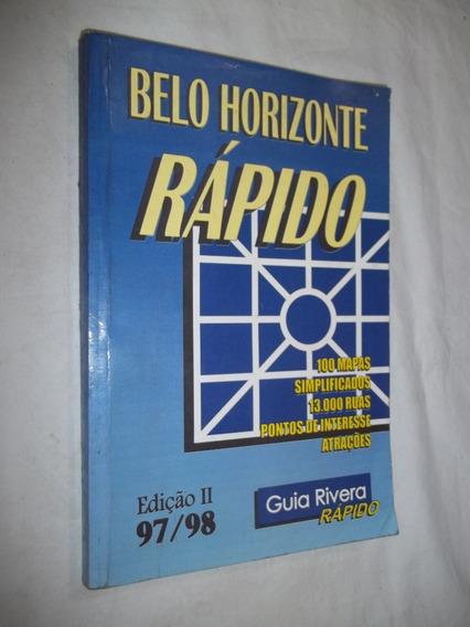 Livro - Belo Horizonte Rápido - Guia Rivera Rapido