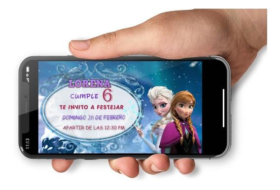 Video Invitacion Frozen
