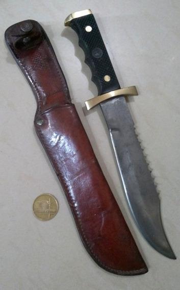 Antiguo Cuchillo Bowie Erizo. El Montañes. Sable. Bayoneta.